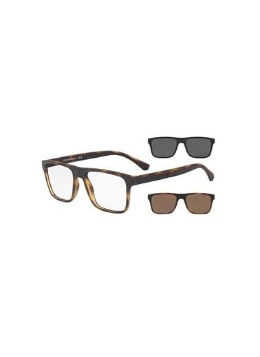 Emporio Armani  Güneş Gözlük Erkek Gözlük 0Ea4115 58021W 54 Siyah